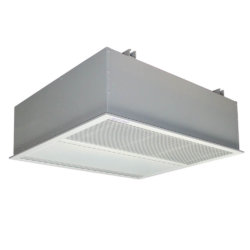 Enviroscreen - ES Type C, Heat Pump air curtain designed for recessed applications.