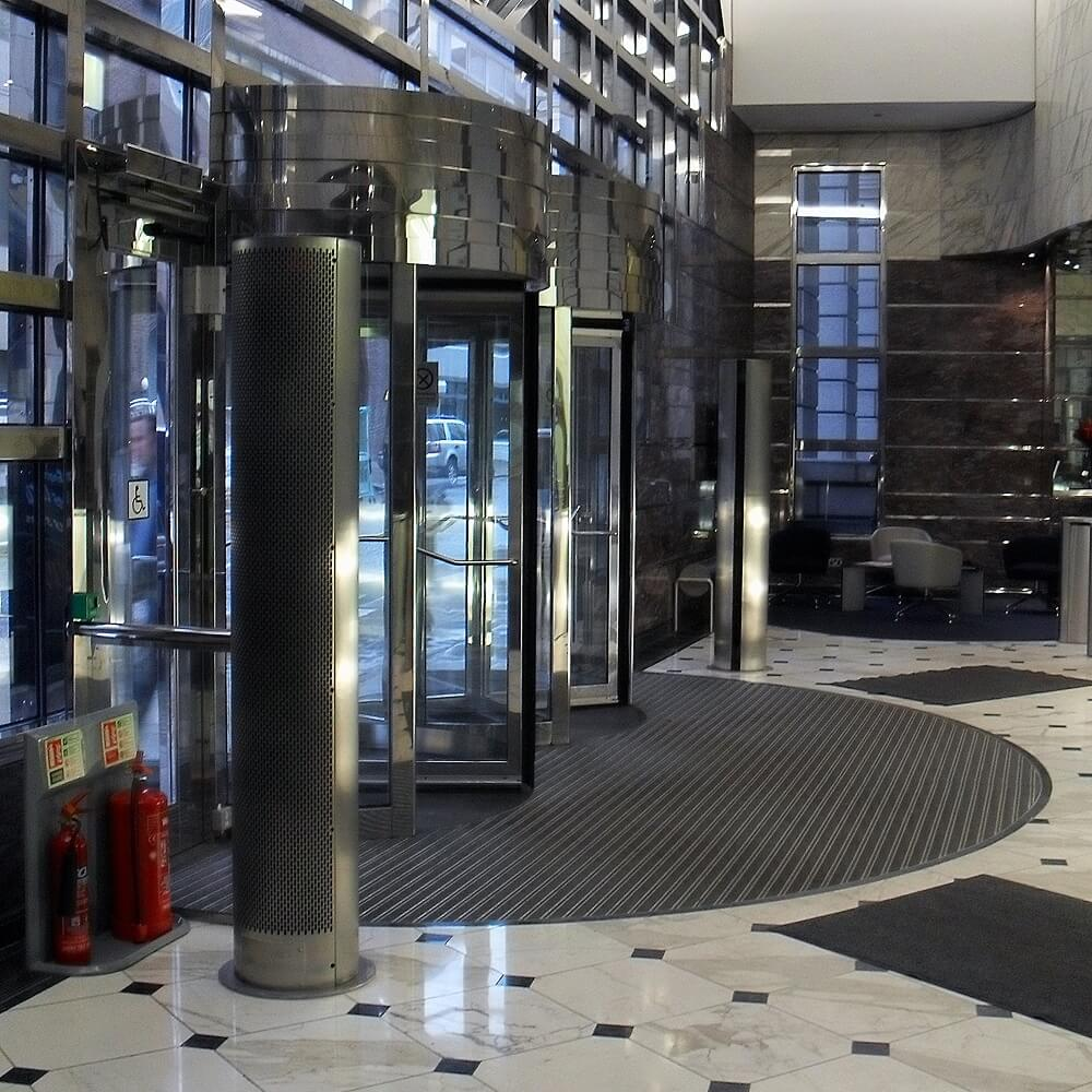 Revolving Door Air Curtain RDAC & Revolving Door Air Curtain RDAC | Air Curtains UK | Envirotec UK