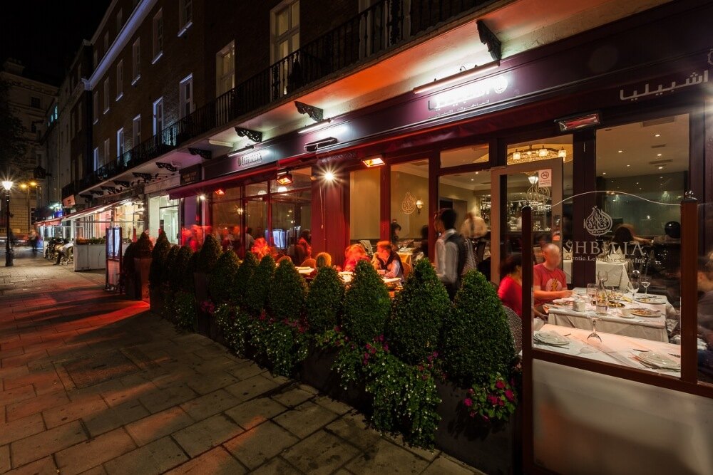 Levant London Restaurant Ishbilia London Restaurant