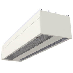 Envirotec 'Universal' UNI Type B air curtain for on view applications.