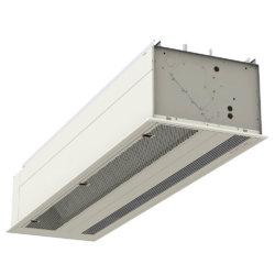 Envirotec 'Universal' UNI Type C air curtain for recessed applications.